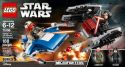 Deals List: LEGO - Star Wars A-Wing vs. TIE Silencer Microfighters 75196 - Black