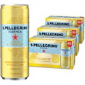 Deals List: S. Pellegrino Essenza Lemon & Lemon Zest Flavored Mineral Water, 11.2 Fluid Ounce (24-Pack)