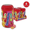 Deals List: Mentos Sugar-Free Chewing Gum, Red Fruit Lime, 50 Piece Bottle (Pack of 4)