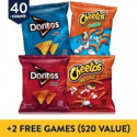 Deals List: 40 Count Frito-Lay Doritos & Cheetos Mix Variety Pack + 2 Free Games