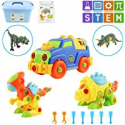 Deals List: 5-Pack Meigo Dinosaur Toys, Toddlers Learning Take Apart Toys