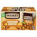 Deals List: Snyders of Hanover Pretzel Sandwiches, Cheddar Cheese, 30 Ct