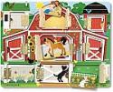 """Deals List: Melissa & Doug Hide & Seek Farm (Developmental Toys, Magnetic Puzzle Board, Sturdy Wooden Construction, 9 Pieces, 12"""" H x 9.4"""" W x 0.9"""" L)"""