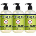 Deals List: 3-Pack Mrs. Meyers Clean Day Hand Soap Lemon Verbena 12.5oz