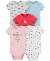 Deals List: 20-Pack Carters Baby Boys or Girls Short Sleeve Bodysuits
