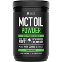 Deals List: MCT Oil Powder from Non-GMO Coconuts (Zero Net Carbs) | A Keto Friendly, Fat & Fiber Source for Sustained Energy, Appetite Control & Gut Health | Mixes in Coffee, Smoothies & More