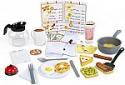 Deals List: Melissa & Doug Star Diner Restaurant Play Set (Toy Diner Set, 41 Pieces)
