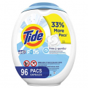 Deals List: Tide Free and Gentle Laundry Detergent Pods, 96 Count, Unscented and Hypoallergenic for Sensitive Skin