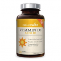 Deals List: NatureWise Vitamin D3 5,000 IU for Healthy Muscle Function, Bone Health and Immune Support, Non-GMO in Cold-Pressed Organic Olive Oil,Gluten-Free, 1-year supply, 360 count
