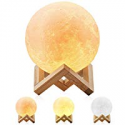 Deals List: Magicfly 5.9-Inch 3D Printing Dimmable Moon Lamp