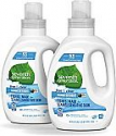 Deals List: Seventh Generation Concentrated Laundry Detergent, Free & Clear Unscented, 40 oz, 2 Pack (106 Loads)