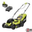 Deals List: Ryobi 13in. ONE+ 18V Li-Ion Walk Behind Push Lawn Mower w/Battery