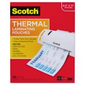 Deals List: Scotch Thermal Laminating Pouches 100 Count, Letter Size Sheets