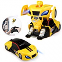 Deals List: Baztoy Transform Toy Remote Control 360° Rotating RC Robot Car