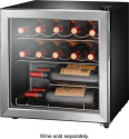 Deals List: Insignia™ - 14-Bottle Wine Cooler - Stainless steel, NS-WC14SS9