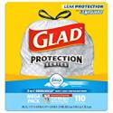Deals List: Glad Tall Kitchen Drawstring Trash Bags - OdorShield 13 Gallon White Trash Bag, Febreze Fresh Clean - 110 Count