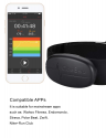 Deals List: CooSpo Fitness Tracker Ant+ Heart Rate Monitor Chest Strap IP67 Waterproof with Bluetooth for Wahoo Strava Zwift
