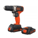 Deals List: BLACK+DECKER BCD702C2BWM 20-V Cordless Drill w/2 Batteries