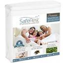Deals List: SafeRest Queen Size Premium Hypoallergenic Waterproof Mattress Protector - Vinyl Free