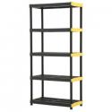 Deals List: HDX Plastic Ventilated 5-Tier Garage Shelving Unit