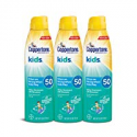 Deals List: Coppertone KIDS Sunscreen Continuous Spray SPF 50 (5.5-Ounce, Pack of 3)