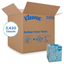 Deals List: Kleenex Professional Facial Tissue Cube for Business (21270), Upright Face Tissue Box, 36 Boxes / Case, 95 Tissues /Box, 3,420 Tissues / Case