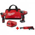 Deals List: Milwaukee M12 FUEL 12V Hammer Drill & Impact Driver Kit w/Ratchet