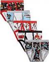 Deals List: Handcraft Little Boys' Power Rangers Brief (Pack of 5), Size 4, 6, or 8