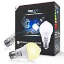 Deals List: 2-Pk Coowoo Motion Sensor Light Bulbs 12W Dusk to Dawn PIR
