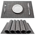 Deals List: Beteam Stain Resistant Anti-skid Washable PVC Table Mats