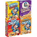 Deals List: Cap'N Crunch Breakfast Cereal, Variety Pack, 14 oz (4 Count)