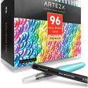 Deals List: ARTEZA Acrylic Paint, Set 14 Colors/Pouches (120 ml/4.06 oz.) with Storage Box, Rich Pigments, Non Fading, Non Toxic Paints for Artist, Hobby Painters & Kids, Ideal for Canvas Painting