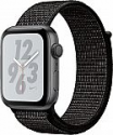 Deals List: Apple - Apple Watch Nike+ Series 4 (GPS) 44mm Space Gray Aluminum Case with Black Nike Sport Loop - Space Gray Aluminum, MU7J2LL/A
