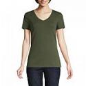 Deals List:  St. John's Bay-Womens V Neck Short Sleeve T-Shirt