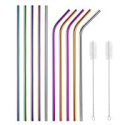 Deals List: X-Chef Reusable Straws Stainless Steel Metal Straws