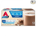 Deals List: Atkins Gluten Free Protein-Rich Shake, Milk Chocolate Delight, Keto-Friendly, 12 Count