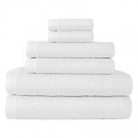 Deals List: Home Expressions Solid or Stripe Bath Towel Collection 9 pc