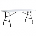 Deals List: Living Accents 72in x 30in Fold-In-Half Table