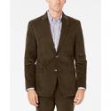 Deals List: Michael Kors Men's Classic-Fit Brown/Blue Plaid Sport Coat