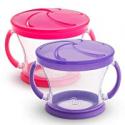 Deals List: Munchkin Snack Catcher 2 Piece, Pink/Purple