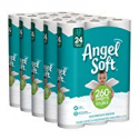 Deals List: Angel Soft Toilet Paper, 60 Double Rolls, 60 = 120 Regular Rolls, Bath Tissue, 12 Count, Pack of 5