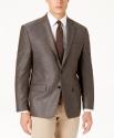 Deals List: Lauren Ralph Lauren Men's Classic-Fit Ultraflex Mini-Herringbone Sport Coat (Beige)