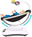 Deals List: 4moms mamaRoo 4 Bluetooth-Enabled high-tech Baby Swing – Classic Nylon Fabric with 5 Unique motions