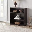 Deals List: 2-Count Mainstays 3-Shelf Bookcase (Various Colors)