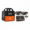 Deals List: RIDGID 18-Volt OCTANE Lithium-Ion Bluetooth 3.0 Ah and 6.0 Ah Battery Starter Kit with Charger + Additional 9.0 Ah Battery