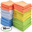 Deals List: Best Microfiber Cleaning Cloths – Pack of 50 Towels
