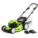 Deals List: Greenworks 21-Inch 40V Brushless Self-Propelled Mower 6AH Battery and Charger Included, M-210-SP