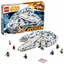 Deals List: LEGO Star Wars Solo: A Star Wars Story Kessel Run Millennium Falcon 75212 Building Kit and Starship Model Set, Popular Building Toy and Gift for Kids (1414 Piece)