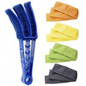 Deals List: Hiware Window Blind Cleaner Duster Brush with 5 Microfiber Sleeves - Blind Cleaner Tools for Window Shutters Blind Air Conditioner Jalousie Dust