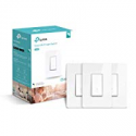 Deals List: TP-LINK HS200P3 Kasa Smart WiFi Switch (3-Pack) Control Lighting from Anywhere, Easy in-Wall Installation (Single-Pole Only), No Hub Required, Works with Alexa and Google Assistant, White